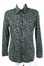 0039 ITALY Damen Bluse Gr. XXL / DE 44 100% Baumwolle Hemdbluse