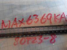 10pcs  MAX6369KA+T 2.5v-5.5v open drain Pin-Selectable Watchdog Timers sot23-8