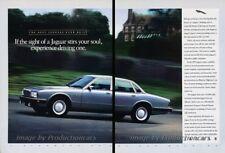 1992 Jaguar Xj Xj6 Vanden Plas Sedan 2-page Advertisement Print Art Car Ad J865