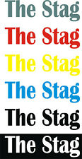 THE STAG  / Iron On / Heat Press Transfer / Wedding Party / Holiday / GROOM