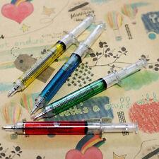 Funny 4 Pcs Doctor Nurse Gift Liquid Syringe Injection Ballpoint Pen Ballpen CN