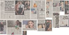 MADONNA : CUTTINGS COLLECTION -newspaper articles-
