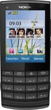 Nokia X X3-02 - Dark Metal (Unlocked) Smartphone