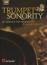 Trumpet Sonority 20 Adagios Sheet Music Book with CD Allen Vizzutti
