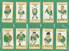 DAILY  TELEGRAPH  -  BEAUTIFUL  SET  OF  26  -  IRELAND  RUGBY  WORLD  CUP  1995