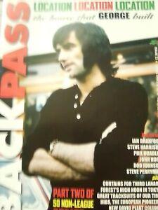 Backpass Retro Football Magazine George Best Bobby Robson Alan Hudson Joe Royle