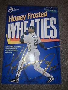 Wheaties Cereal Boxes 1996 Ken Griffey Jr Collector/Signature *Unopen* New Vtg