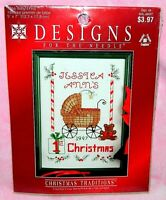 New Designs for the Needle Baby's First Christmas Counted Cross Stitch Kit