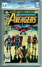 AVENGERS #217 CGC 9.8 WP EGGHEAD YELLOWJACKET NEW CGC CASE MARVEL COMICS - 1982