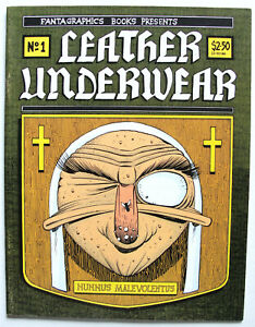 LEATHER UNDERWEAR #1 Indie Comic FANTAGRAPHICS 1990 Roger Langridge