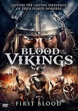 Blood of the Vikings: First Blood (DVD, 2017) BBC NEW SEALED with Slipcover