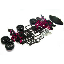 Alloy & Carbon 1:10 2WD Version RC Drift Car Frame Kit For Racing Sakura D4 RWD
