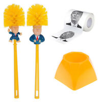 Toilet Brush Holders WC Donald Trump Toilet Brush Donald Trump Paper Napkin YBH