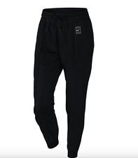 Nike NikeCourt Women's Woven Warm Up Tennis Pants - Size Medium Black 802602 010
