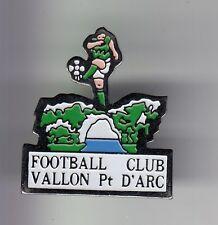 RARE PINS PIN'S .. FOOTBALL SOCCER CLUB TEAM FC ARDECHE VALLON PONT D'ARC 07 ~DG
