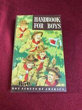1948 June 5th Ed 1st Print Boy Scout Handbook Boy Scouts of America BSA Book
