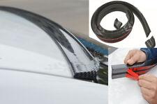 3D Carbon Fiber Car Rear Wing Lip Spoiler Tail Trunk Roof Trim Luxury Kit 4.9ft