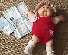 Cabbage Patch Doll 1978,1982 Appalachian Artworks Inc. Mfg. Birth Certificate
