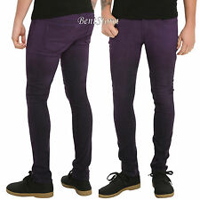 "RUDE Purple Ombre Super Skinny Jeans 26"" Waist 32"" Inseam Joker Costume Pants"