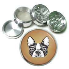 Bulldog Rs1 Themed Aluminum Herb Grinder 63mm 4 Piece Hand Mueller