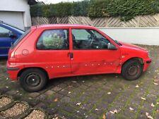Peugeot 106 / mit neuem TÜV/ leichter Unfallschaden für Schrauber kein Problem