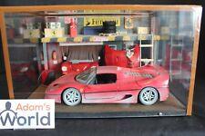 Diorama Ferrari Workshop 1:18 with a Ferrari F50 (Bburago) (PJBB)