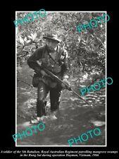 POSTCARD SIZE PHOTO OF AUSTRALIAN MILITARY S6x4IER 5th BATTALION VIETMAN c1966