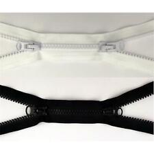 (6,50 EUR/Stück) 2 Wege Reißverschluss 70cm lang, 8mm Kunststoff