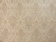 "57"" Wide Drapery Upholstery Damask Chenille Fabric Natural Sold by The Yard"