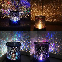 Childrens Star Master Night Light Sky Led Projector Mood Magic Kids Bedroom*Lamp