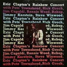 ERIC CLAPTON ETC - Eric Clapton's Rainbow Concert (LP) (G/VG-)