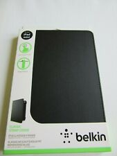 brand new belkin  ipad mini case black classic strap cover , soft touch