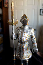 Mayer Chess KNIGHT with Lance Poly Resin 38 cm Figurine!