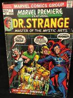 Marvel Premiere Comic Book #7 Dr. Strange 1973 Dagoth Master of Mystic Arts