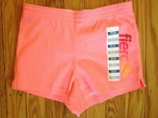 Nwt Girl's Old Navy Neon Pink Cotton Shorts with Fierce - Size Xs 5