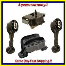 1992-2002 Saturn 1.9L SC / SL / SW Series Engine Motor & Trans. Mount Set 4PCS.