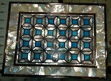 3'x2' Marble dining center Coffee side Table Top Inlay lapis mosaic Marquetry A1