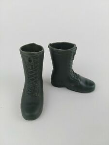 "1/6 Scale Green Military Boots For 12"" Figures GI Joe Dragon BBI 21st Century"