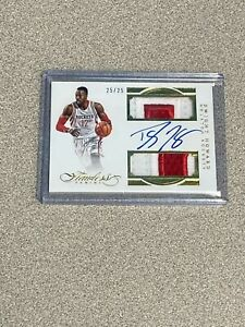2015/16 Panini Flawless Dwight Howard Dual Game Used Patch Auto #d 25/25