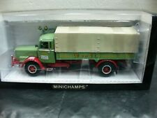 WOW EXTREMELY RARE Bussing/Büssing 8000S Canvas Truck Wandt BS 1:43 Minichamps