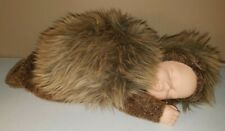 "Anne Geddes 16"" Doll Hedgehog 1998 Plush Collectible Sleeping Doll"