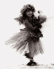 "Kim Taylor Reece ""Ka Ipu"" 11 X 14 Double Matted Hawaiian Hula Print - New"