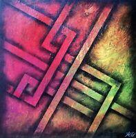 """""""Labyrinthe"""" Œuvre originale de Audrey Granjeaud."""