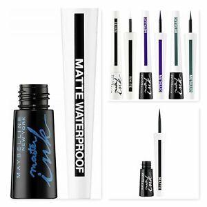 MAYBELLINE Master Ink Liquid Eyeliner 9ml - CHOOSE TYPE - NEW
