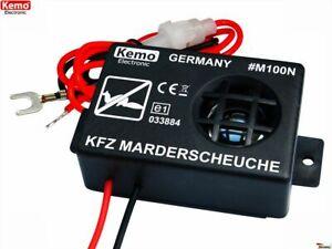 Ultraschall Marderschreck 12V Marderabwehr Marderschutz Marderfrei Marder Auto