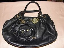 VERY RARE AND NICE LEATHER JUICY COUTURE BAG WITH LEATHER CRAB TAG