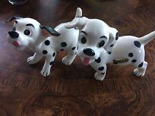 Dalmatians Figurines Porcelain Puppy Dog Puppies