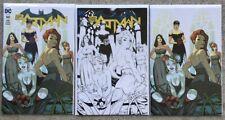 Batman Rebirth #50~Coliseum Of Comics Exclusives 3 Book Set~Ale Garza Bridesmaid