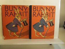 1931 Hc w/Dj Bunny Rabbit Althea L. Clinton / Illustrated by Bill Bailey