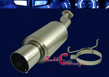 07-08 HONDA FIT DME T-304 STAINLESS STEEL AXLE BACK EXHAUST MUFFLER